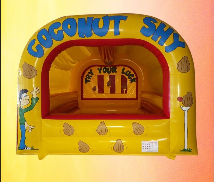 Inflatable Coconut Shy Stand 1067