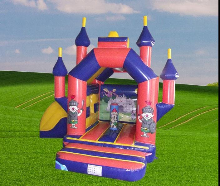 Cartoon Crazy Side Slide Castle 1187