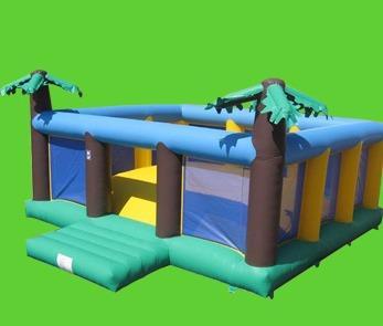 Soft Air Mountain Wobbly Bouncy Castle 1254
